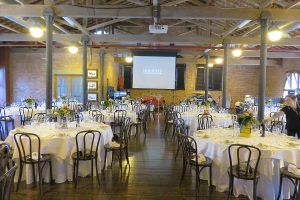 car museum catering venue